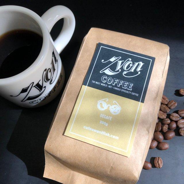 ZVON COFFEE <br>DECAF -デカフェ-<br>カフェインレスコーヒー<br>(メキシコ)