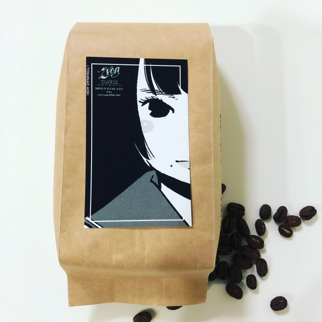 <img class='new_mark_img1' src='https://img.shop-pro.jp/img/new/icons47.gif' style='border:none;display:inline;margin:0px;padding:0px;width:auto;' />ZVON COFFEE <br>青木女学院ラベル<br>Illustration by 青木俊直