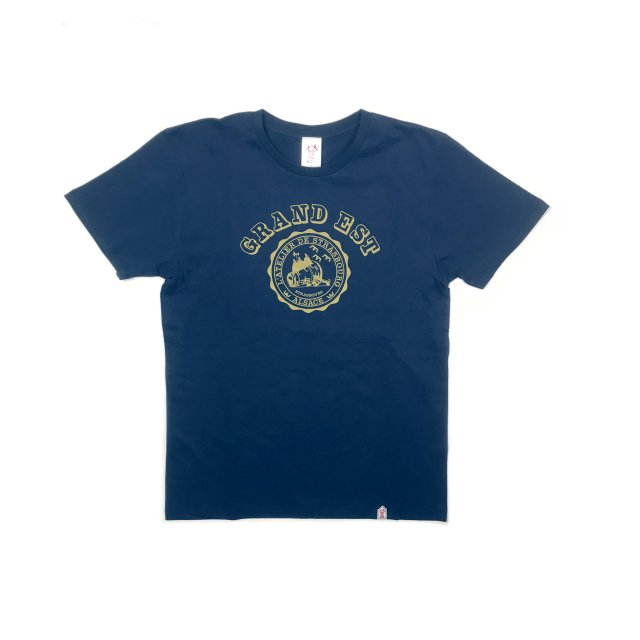<img class='new_mark_img1' src='https://img.shop-pro.jp/img/new/icons13.gif' style='border:none;display:inline;margin:0px;padding:0px;width:auto;' />GRAND EST T SHIRTS / NAVY(UNISEX)