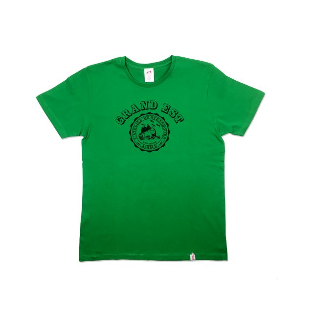 <img class='new_mark_img1' src='https://img.shop-pro.jp/img/new/icons13.gif' style='border:none;display:inline;margin:0px;padding:0px;width:auto;' />GRAND EST T SHIRTS / GREEN(UNISEX)