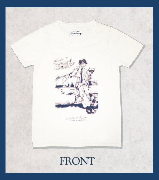 <img class='new_mark_img1' src='//img.shop-pro.jp/img/new/icons47.gif' style='border:none;display:inline;margin:0px;padding:0px;width:auto;' />RASCAL COTTON KNIT  T-SHIRTS / OFF WHITE (Men's Versoin)