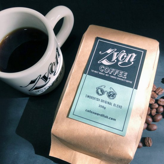 ZVON COFFEE <br>BLUE LABEL<br>(SWORDFISH ORIGINAL BLEND)