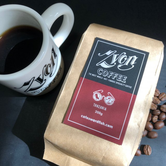ZVON COFFEE<br>RED  LABEL<br>(TANZANIA)