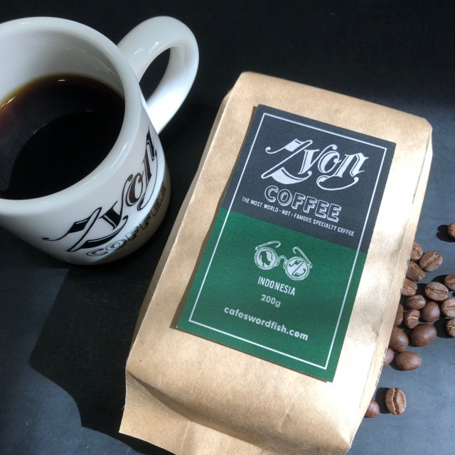ZVON COFFEE<br>GREEN  LABEL<br>(INDONESIA)