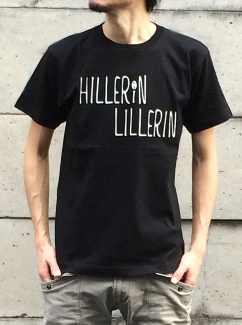 Hillerin Lillerin(ヒレリン・リレリン)HL001 TEE / BLACK
