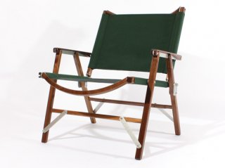 Kermit Chair WALNUT -FOREST GREEN-