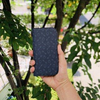 ハーネスプリント iphoneケース 手帳タイプ-iphone12 / 12pro【パターンオーダー】