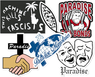 PARADIS3<br>STICKER PACK A<br>