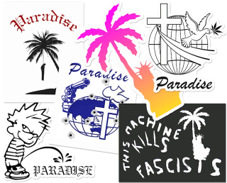 PARADIS3<br>STICKER PACK C<br>