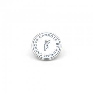 Anwar Carrots<br>CIRCLE LOGO ENAMEL PIN<br>