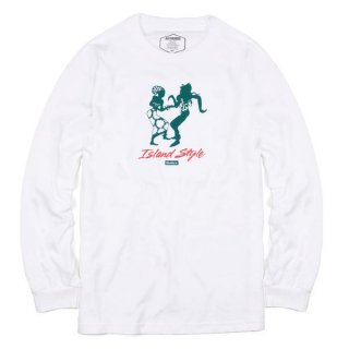 BUTTER GOODS<br>ISLAND STYLE L/S TEE<br>