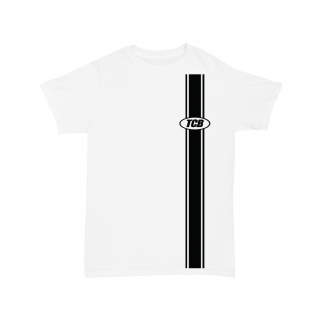 TALL CAN BOYZ<br>SIDE BAR TEE WHITE<br>