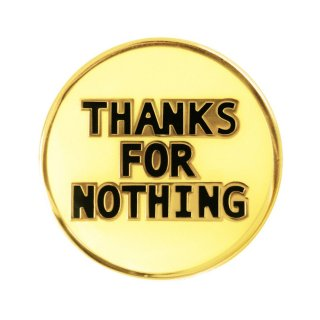 DIVINITIES<br>Thanks For Nothing Pin<br>