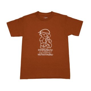 BRONZE56K<br>SOPHISTICATED GUY TEE TEXAS ORANGE<br>