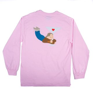 ALLTIMERS<br>DUSTIN L/S TEE PINK<br>