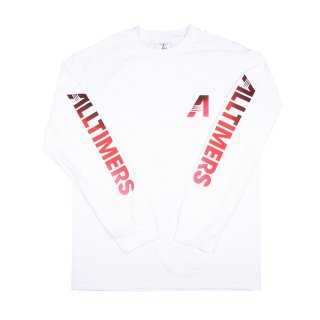 ALLTIMERS<br>ARTISTS L/S TEE WHITE<br>
