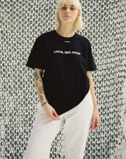 LOCAL GIRL GANG<br>LEE SHORTSLEEVE T-SHIRT<br>
