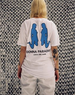 LOCAL GIRL GANG<br>DONNA SHORTSLEEVE T-SHIRT<br>