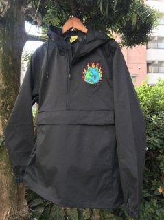 iggy<br>BLACK WORLD ON FIRE ANORAK<br>