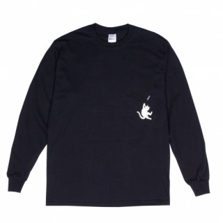 RIPNDIP<br>HANG IN THERE L/S<br>