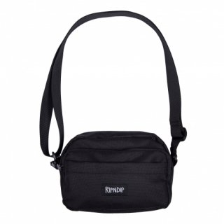 RIPNDIP<br>MAN PURSE SHOULDER BAG (BLACK)<br>