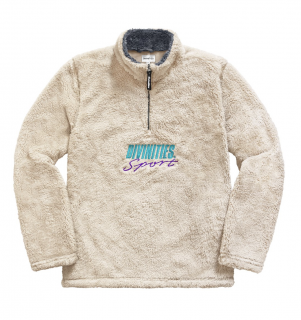 DIVINITIES<br>Fleece Half Zip Pullover<br>