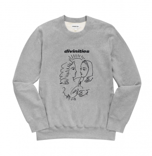 DIVINITIES<br>Dove Crewneck<br>