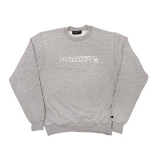 BRONZE56K<br>BRONZE FILM CREWNECK GREY<br>