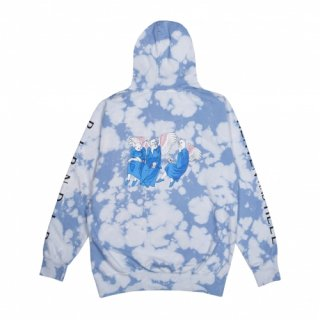RIPNDIP<br>HEAVEN AND HELL HOODIE (CLOUD WASH)<br>