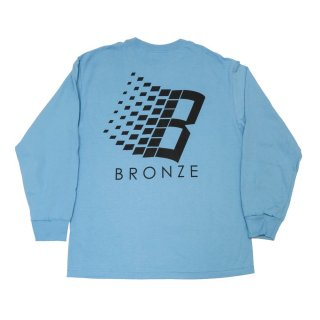 BRONZE56K<br>B LOGO LONG SLEEVE SHIRT <br>