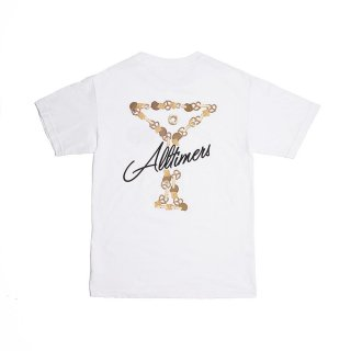 ALLTIMERS<br>BAR MIX TEE WHITE<br>
