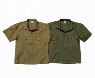 COMFORTABLE REASON<br>Panama cloth Safari shirts<br>