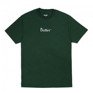 BUTTER GOODS<br>EMBROIDERED CLASSIC LOGO TEE<br>