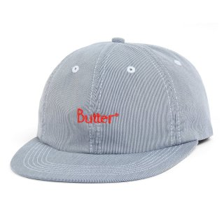 BUTTER GOODS<br>PINCORD 6 PANEL CAP<br>