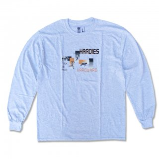 HARDIES HARDWARE<br>TRACK AND FIELD LONG SLEEVE TEE<br>