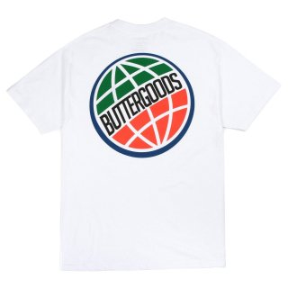BUTTER GOODS<br>3D WORLDWIDE LOGO TEE<br>