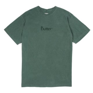 BUTTER GOODS<br>TONAL EMBROIDERED CLASSIC LOGO TEE<br>