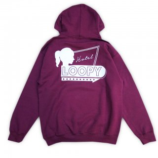 LOOPY HOTEL<br>Loopy Logo Pullover<br>