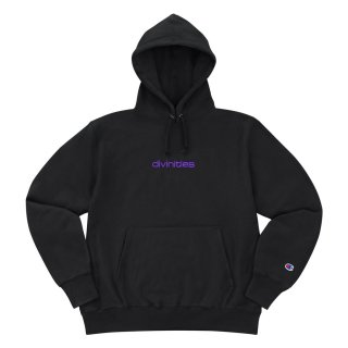 DIVINITIES<br>Embroidered Micro Logo hoodie<br>