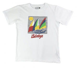 Blobys<br>Blobys Boat T Shirt White<br>