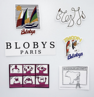 Blobys<br>Blobys Sticker Pack<br>
