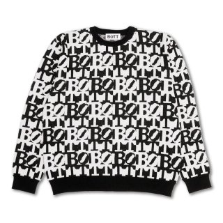 BoTT<br>Birth Of The Teenager<br>Square Logo Summer Knit<br>