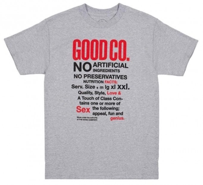 THE GOOD COMPANY<br>Natural Tee<br>