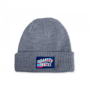 QUARTER SNACKS<br>WAFFLE BEANIES<br>