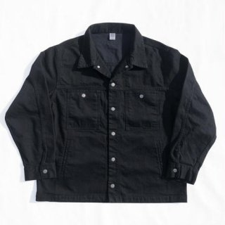 COMFORTABLE REASON<br>Black Denim Jacket<br>