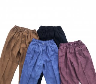COMFORTABLE REASON<br>Linen Daily Slacks<br>