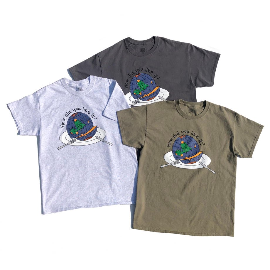 COMFORTABLE REASON<br>How did you like it? S/S Tee<br>