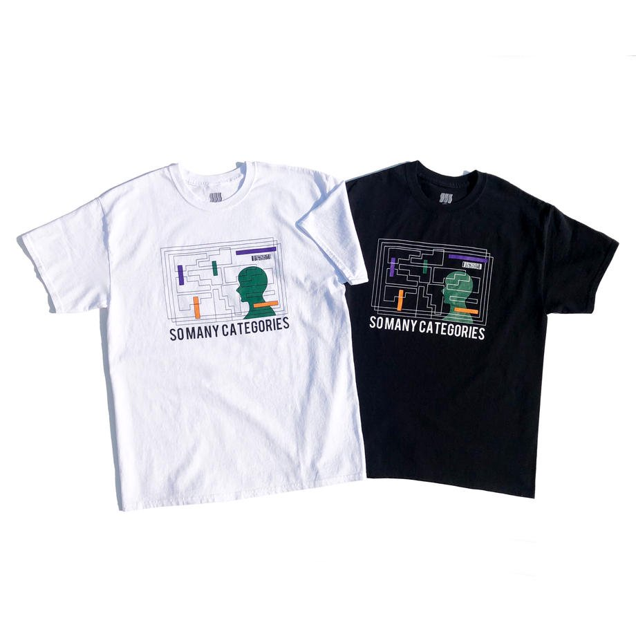 COMFORTABLE REASON<br>SO MANY CATEGORIES S/S Tee<br>