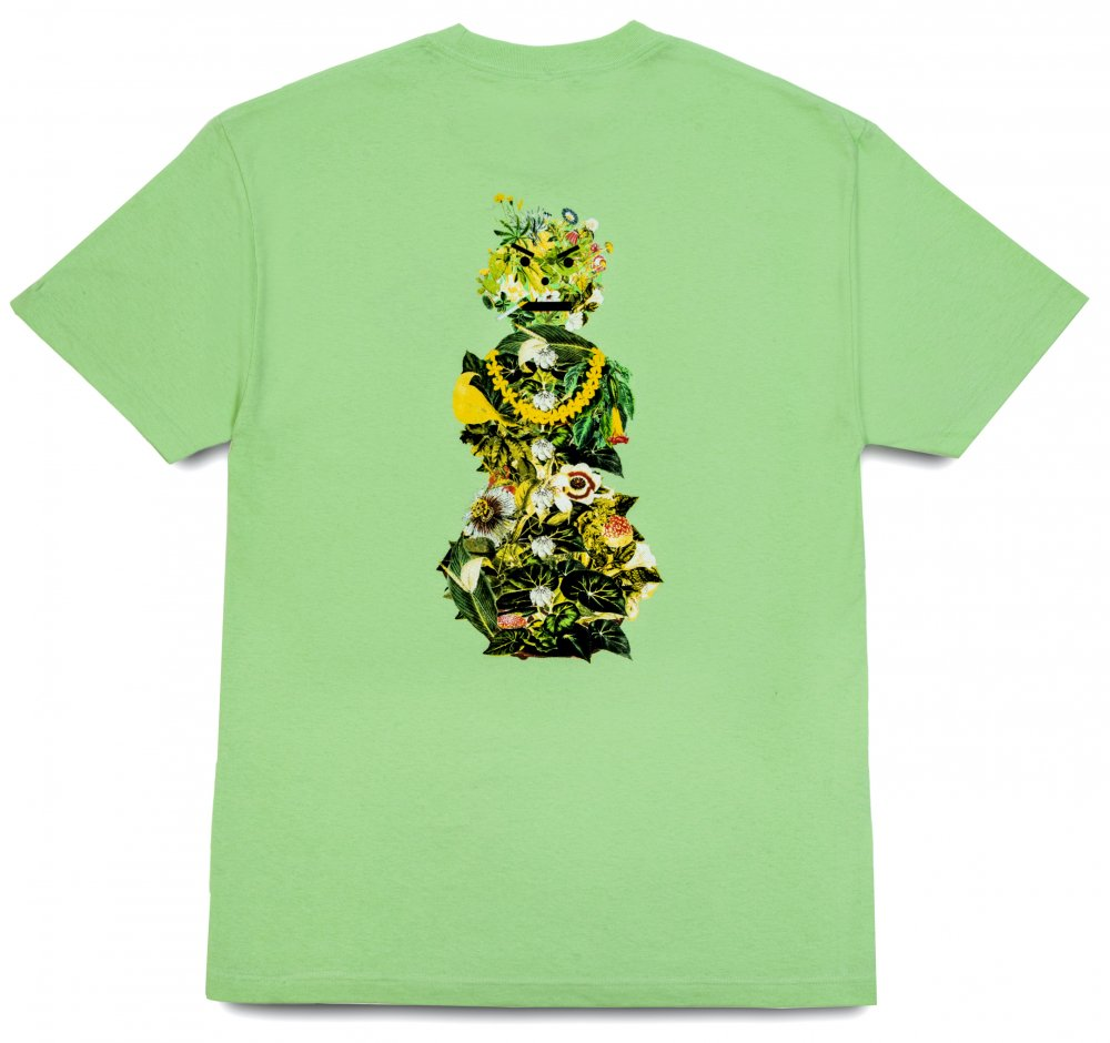 QUARTER SNACKS<br>Botanical Snackman Tee<br>