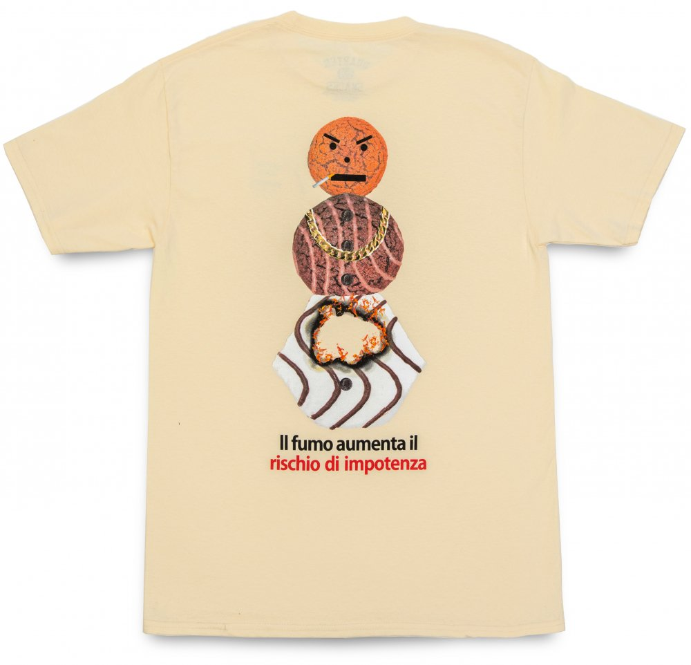 QUARTER SNACKS<br>Smokers Warning Snackman Tee<br>